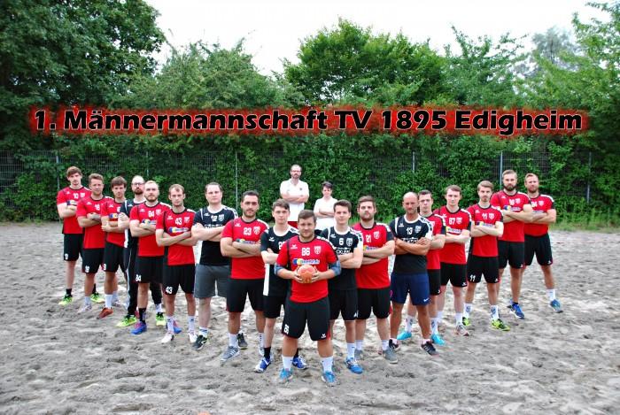 1. Männermannschaft TV 1895 Edigheim Saison 2018 / 2019