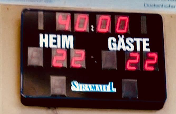 TVE D-Jgd.-Pfalzliga: Punkt gewonnen – Punkt verloren