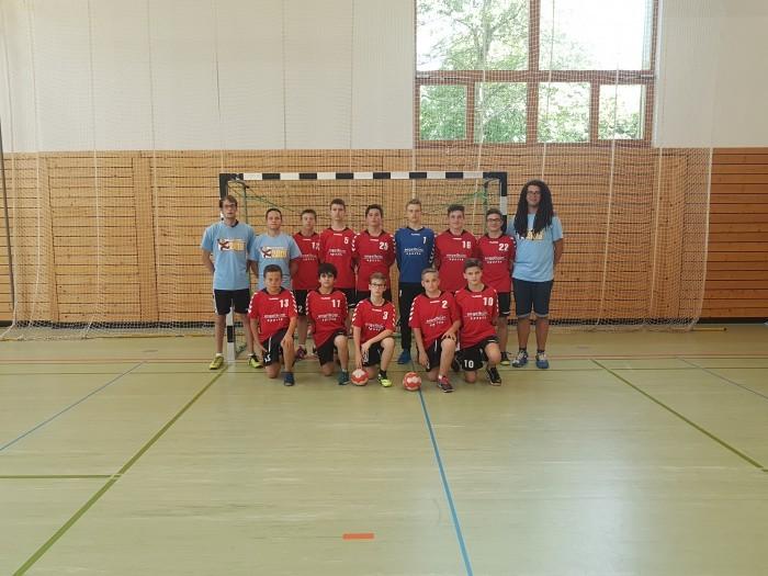 Männliche C-Jugend beim Pfalzgas-Cup